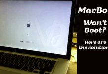 Fix Macbook Won't Boot
