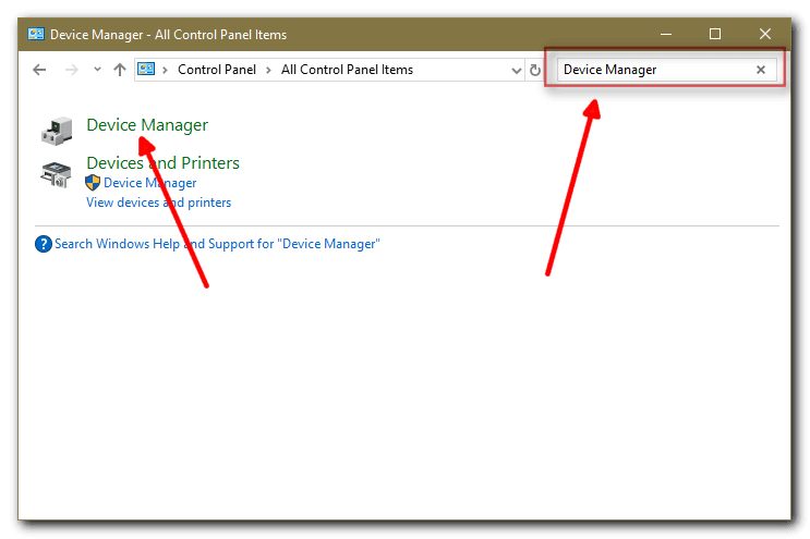 Windows 10 Device Manager