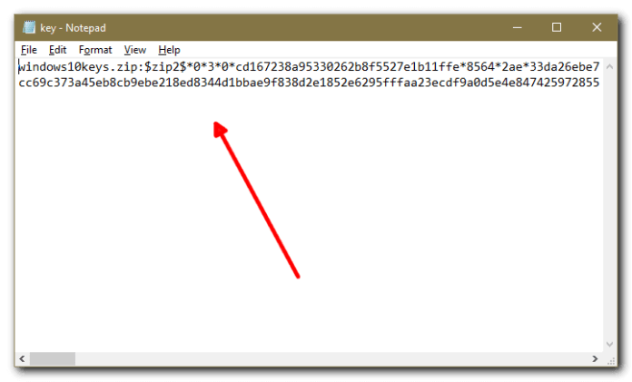 How To Crack Zip File Password using CMD