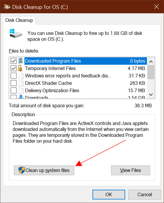 Fix If Windows 10 C Drive full without reason