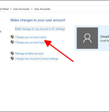 How to change Account username on Windows 10