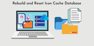 How to Rebuild Icon Cache Database on Windows 10