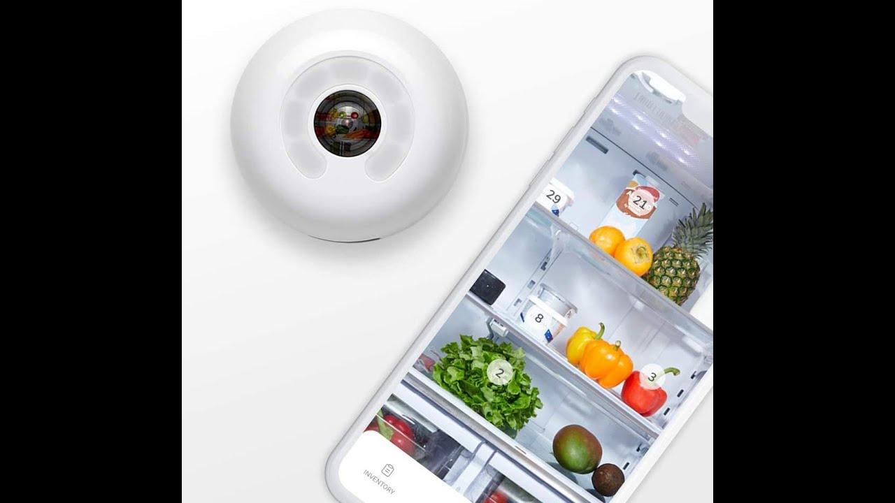 Super Cool Gadget Fridge Cam by Smarter - Wi-Fi Fridge Camera #07