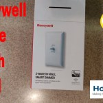 Installing and Adding to Homeseer a Honeywell Zwave wall swtich