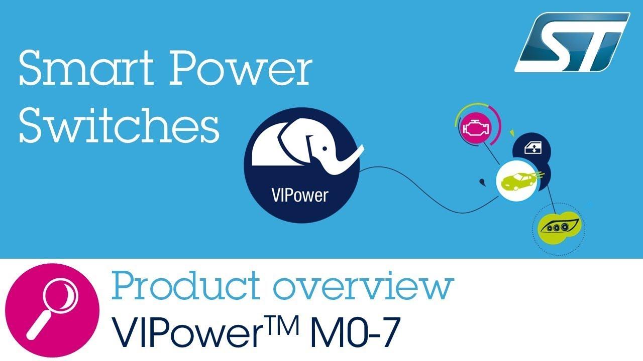 VIPower M0-7 Smart Power Switches