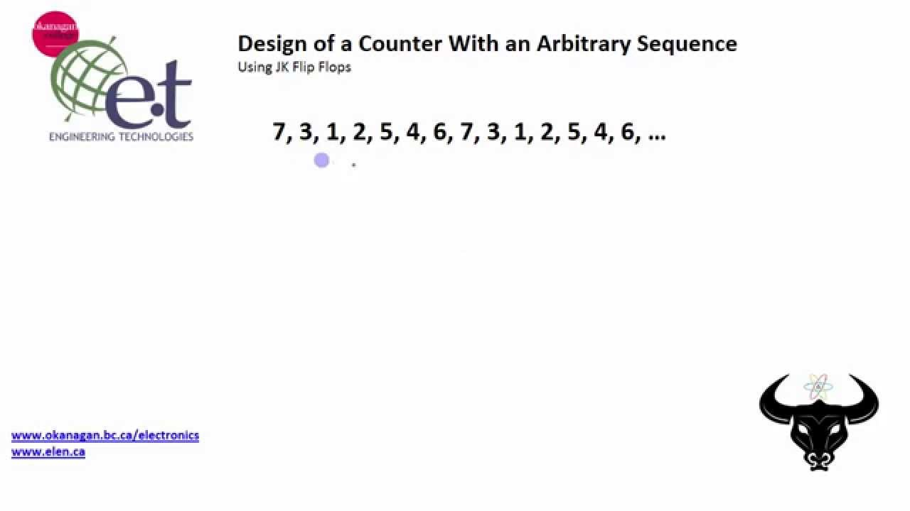 Design a Counter With an Arbitrary Sequence (1/3)