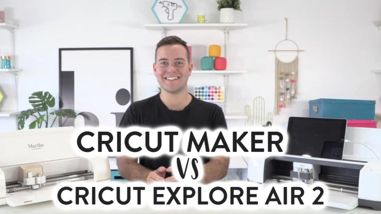Cricut Maker Vs. Cricut Explore Air 2 - An Updated Open Conversation