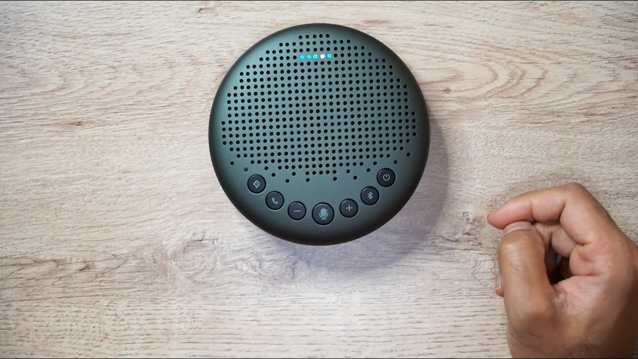Hands-On with the eMeet Luna Speakerphone with Voice AI!