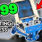 $199 Screen printing Press To Start Your Home Business