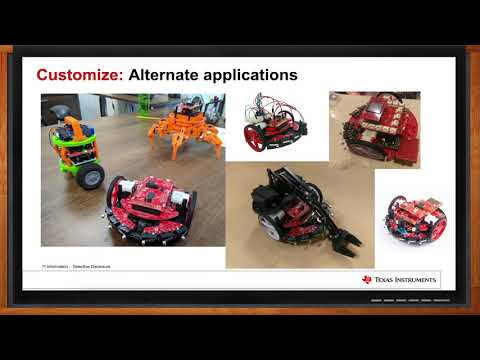 TI Robotics System Learning Kit - Texas Instruments and Mouser Electr...