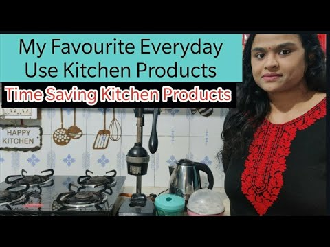 Must Have Kitchen Essentials for Every Indian Kitchen|My Favourite Th...