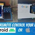 How to Remote Control PC from Your Mobile Phone | Keyboard and Mouse ...