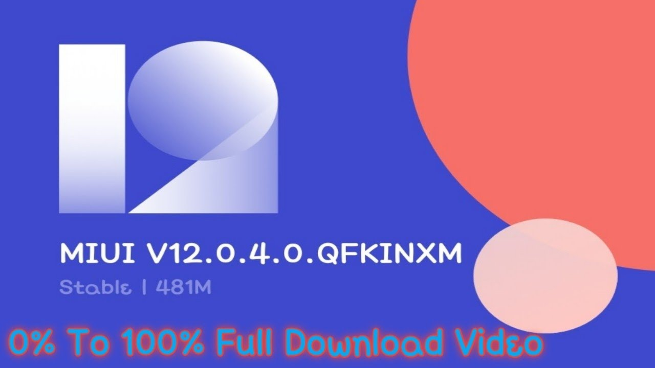 Redmi K20 Pro MIUI 12.0.4.0 Updating 0% To 100% Without Skip Full Vid...