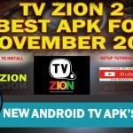 New APK  TV ZION Best Quality- Better than Terrarium