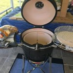 """Unboxing and Installing My New Toy """"Kamado Ceramic Grill"""""""