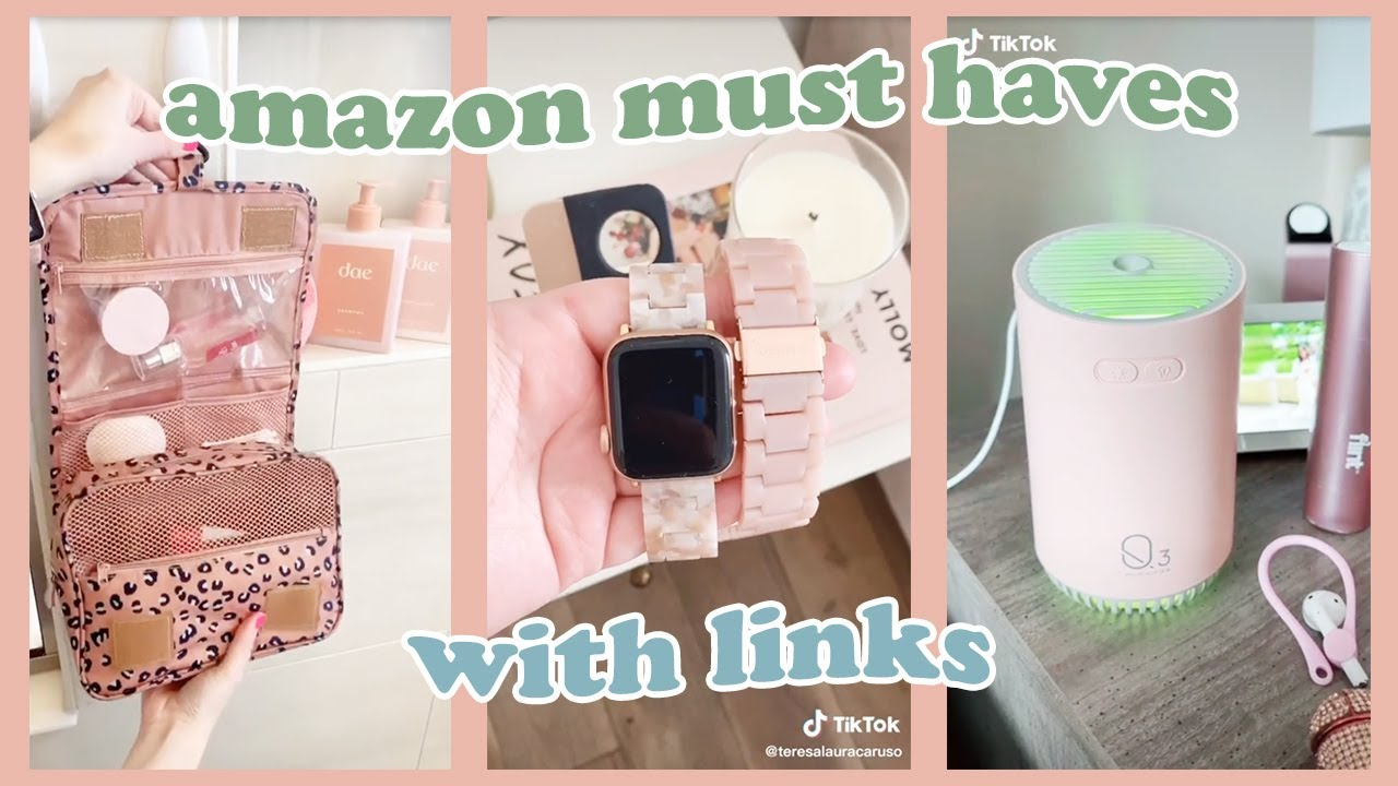 TIKTOK AMAZON FINDS + MUST HAVES 💕 w/ Links