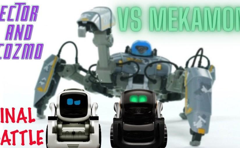 COZMO & VECTOR VS MEKAMON the spider robot – FINAL BATTLE 2021 – …  #COZMO #amp #VECTOR #MEKAMON #spider #robot #FINAL #BATTLE