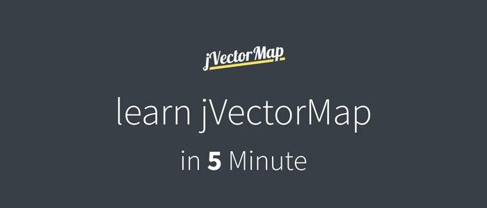 Learn jVectorMap in 5 Minutes