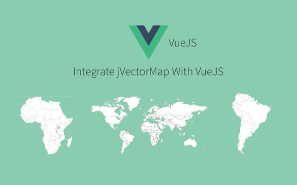 How to Integrate jVectorMap With VueJs Using VueCli, jQuery