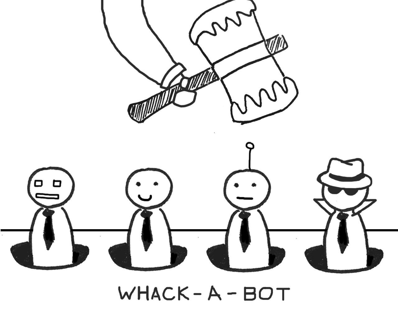 Whack A Bot Fighting Fake News