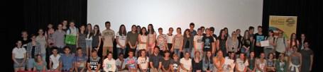 die jungen filmemacherinnen bei der filmgala2