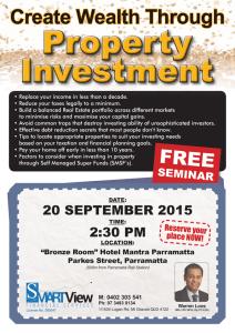 Property Investment Seminar Ad