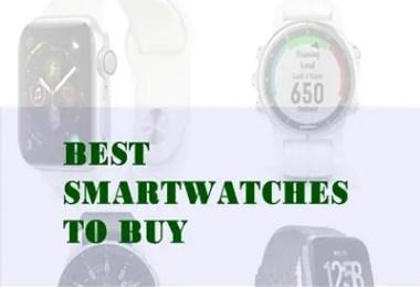 top best smartwatches to buy in 2018