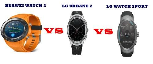 lg urbane vs watch sport vs huawei watch 2 compared