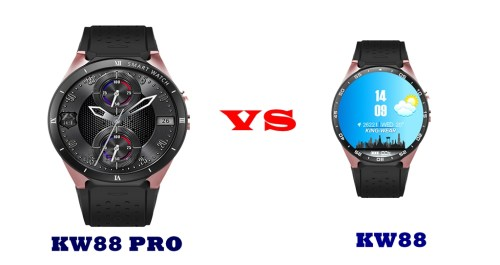 Kingwear Kw88 Pro Vs Kw88 Specs Compared Smartwatch Series