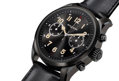 montblanc summit 2 snapdragon 3100 smartwatches