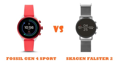 skagen falster 2 vs fossil gen 4 sport compared