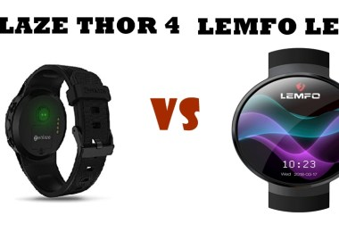 zeblaze thor 4 vs lemfo lem 7 compared head to head