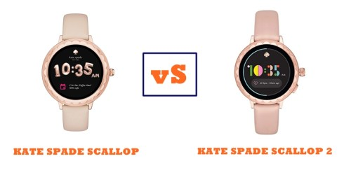 Kate Spade Scallop Vs Scallop 2 Compared Smartwatch Series