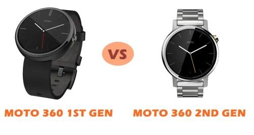 0c8947d99 Moto 360 1st Gen vs Moto 360 2nd Gen Compared | SMARTWATCH SERIES