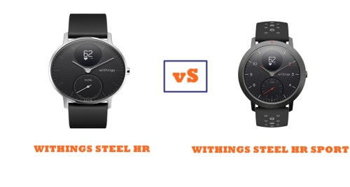withings steel hr vs steel hr sport compared