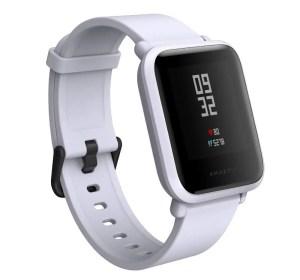 amazfit bip smartwatch - best low budget fitness smartwatch for women