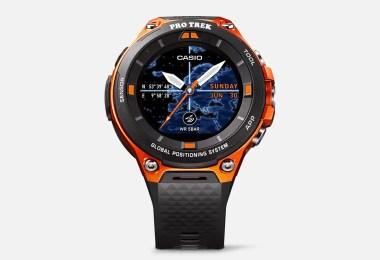 casio pro trek wsd-f20 smartwatch specs