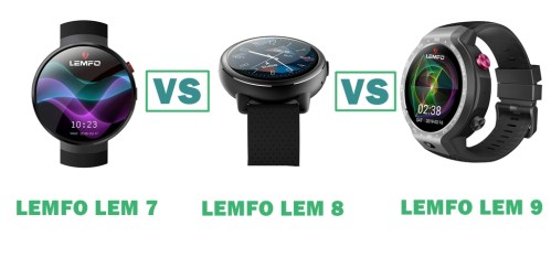 lemfo lem 7 vs 8 vs 9 compared