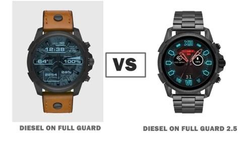 diesel on full guard vs diesel on full guard 2.5 compared