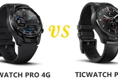 ticwatch pro 4g vs pro