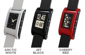 Pebble Smartwatch Farben
