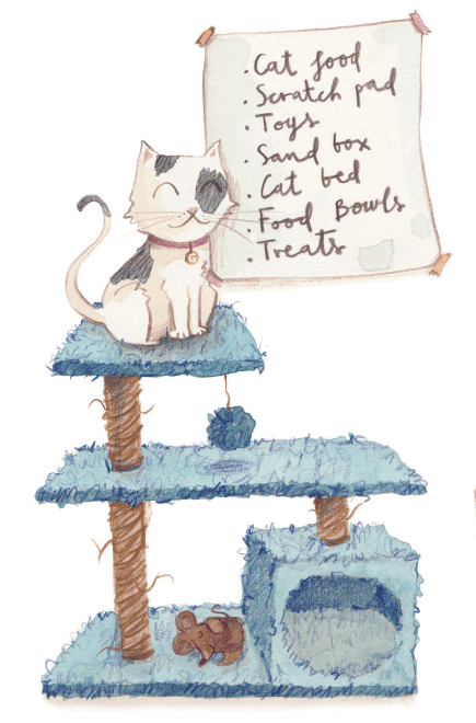 marty's world, george the cat