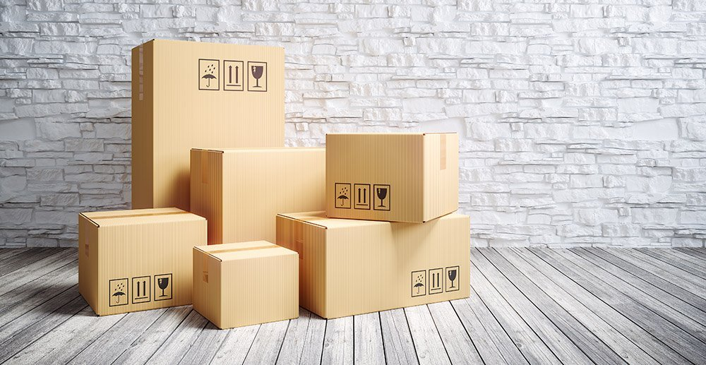 boxes stacked in a room what is inventory shrinkage
