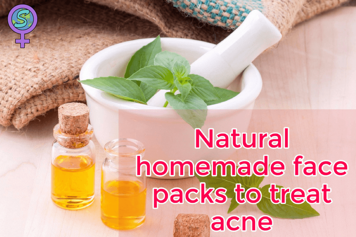 Natural Homemade Face Packs To Treat Acne