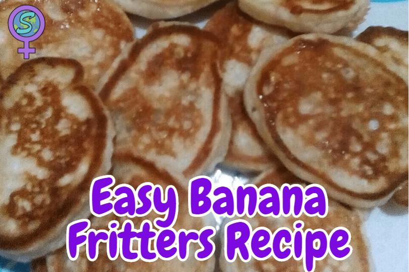 Easy Banana Fritters Recipe