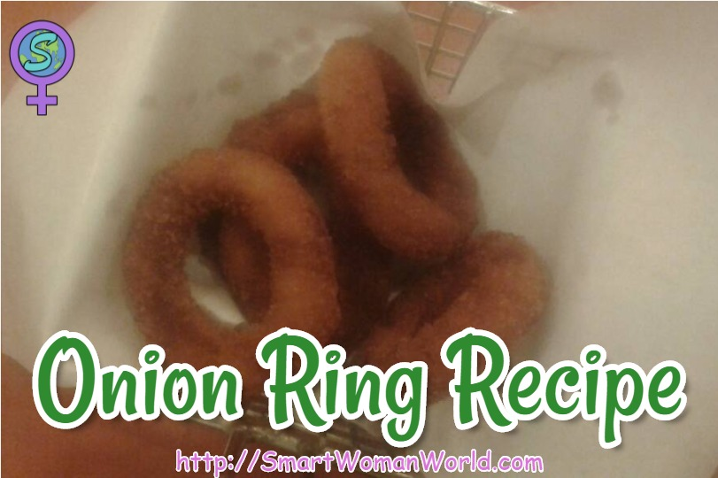 Onion Rings Recipe (Fried Onion)