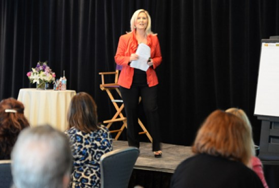 Joy Chudacoff Speaking to Women