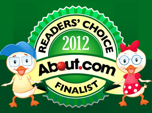 Smarty Ears' Apps Become Finalists in the About.com's Readers' Choice Awards