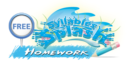 sylable splash homework