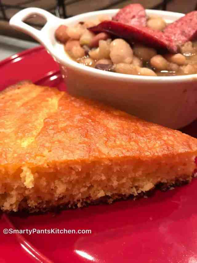 beans and cornbread